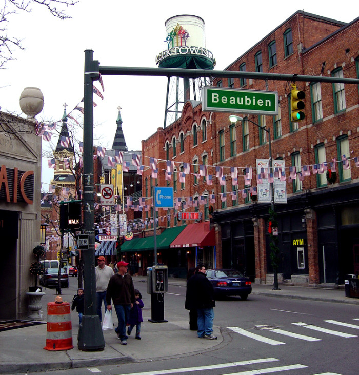 5) A day trip through Detroit, with stops at classic destinations like...