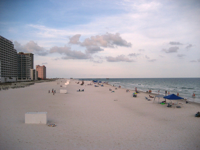 4. Take a beach vacation to Gulf Shores.