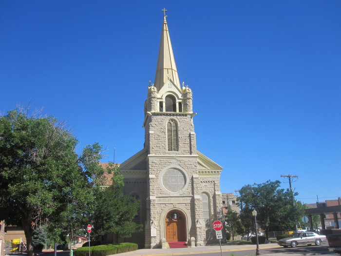 6) Holy Trinity Catholic Church (Trinidad)