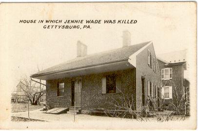 1. Jennie Wade House, Gettysburg