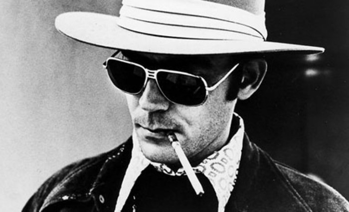 "2. 1937 to 2005, Hunter Thompson, aka Gonzo, was an infamous journalist who coined the term Gonzo Journalist. He was known for going into extreme situations, sometimes being quite extreme himself. One of his famed quotes is ""Buy the ticket, take the ride"", as he believed in getting the most out of life."