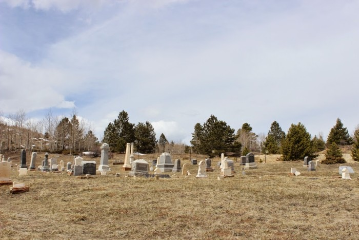 4.) Central City Masonic Cemetery  (Central City)