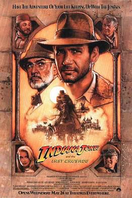 5.) Indiana Jones and the Last Crusade