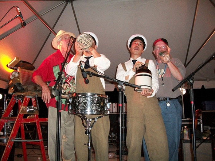 5. Many consider Kentucky to be the origin of Bluegrass music. Some of the best music heard at the state fair can be from Jug bands with a Washtub bass.