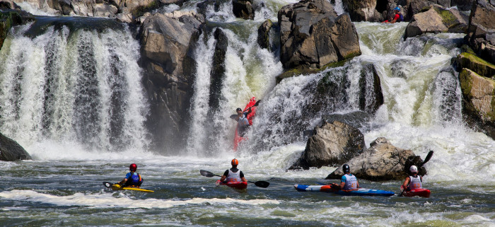 7. Ride the rapids with whitewater rafting or kayaking