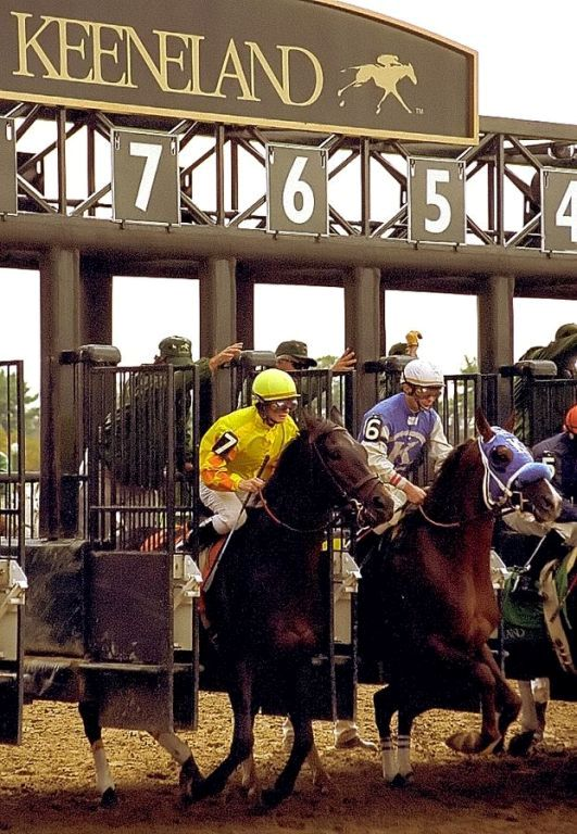 15. The Keeneland Race Track is second only to Churchill Downs.