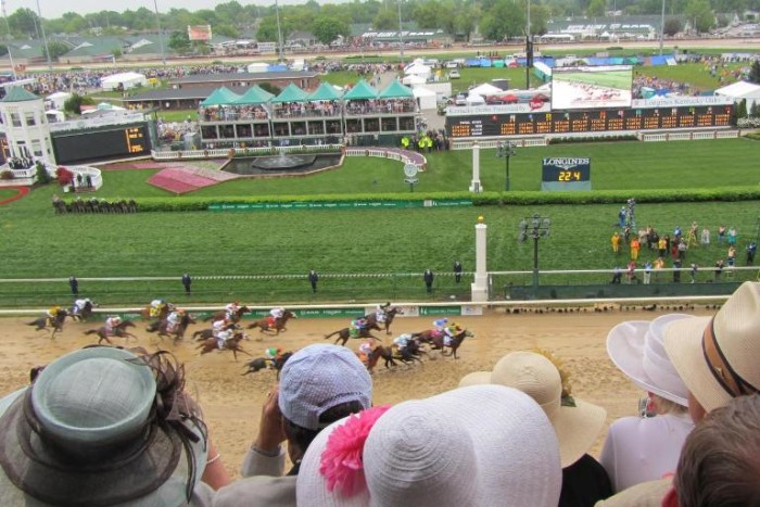 7. Kentucky Derby Festival takes place during the last Friday in April up till May 5th. There are parades, a boat race, the running of the Derby, and plenty of food, drink and fun.