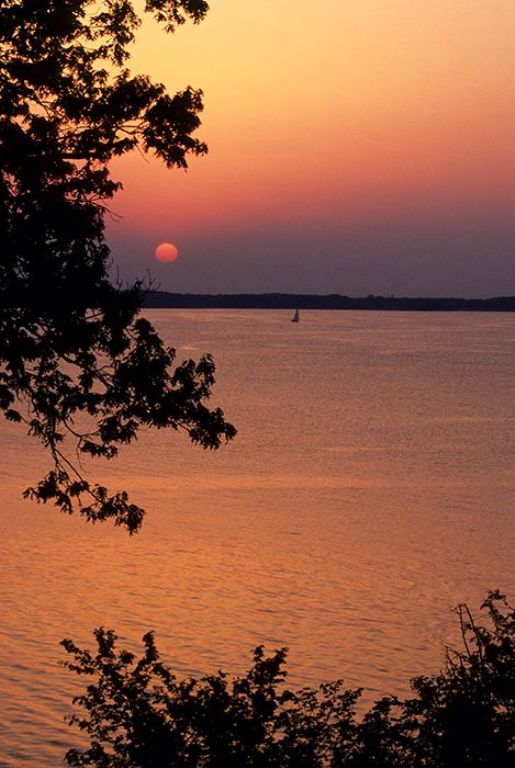 11B. A Kentucky Lake Sunset is completely breathtaking.