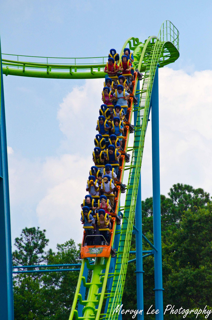 3. Experience the thrill of Virginia's Theme Parks