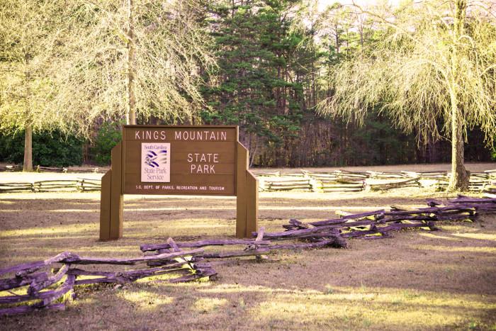 10. Kings Mountain State Park, Blacksburg, SC