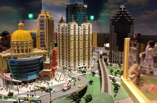 3. Atlanta Built in Legos