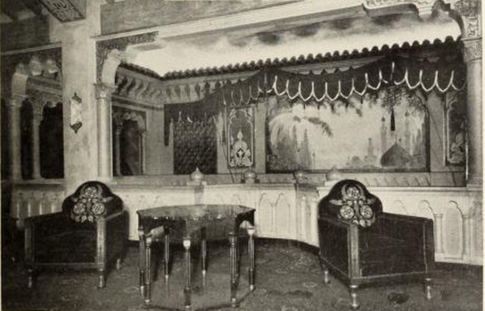 Lounge of the Fox Theatre
