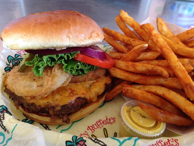 """It doesn't get much better than the  """"Pa-menna Cheeseburger"""" at LuLu's! Be sure to visit LuLu's the next time you're in Gulf Shores. You'll love it!"""