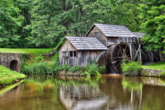 13. Mabry Mill, Meadows of Dan
