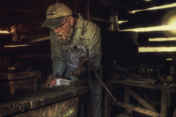 Mabry Mill Blacksmith