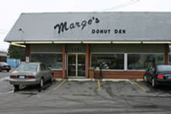 13) Marge's Donut Den, Wyoming