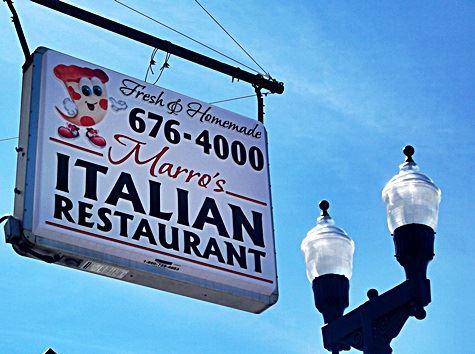 14. Marro's Italian Restaurant, Kenbridge