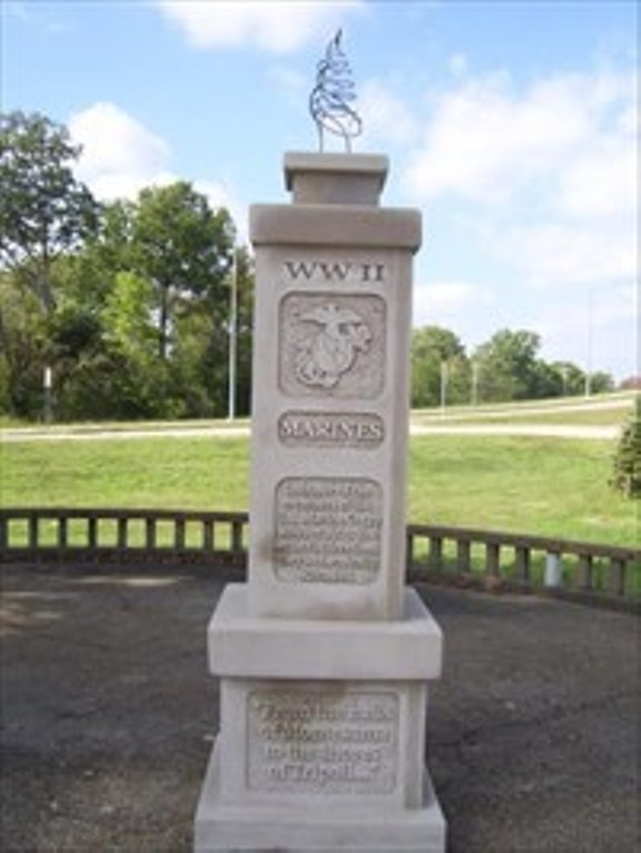 9. Mayfield WWII Monument in Mayfield