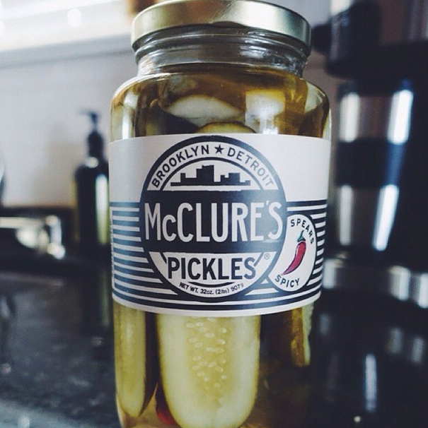 14) McClure's Pickles