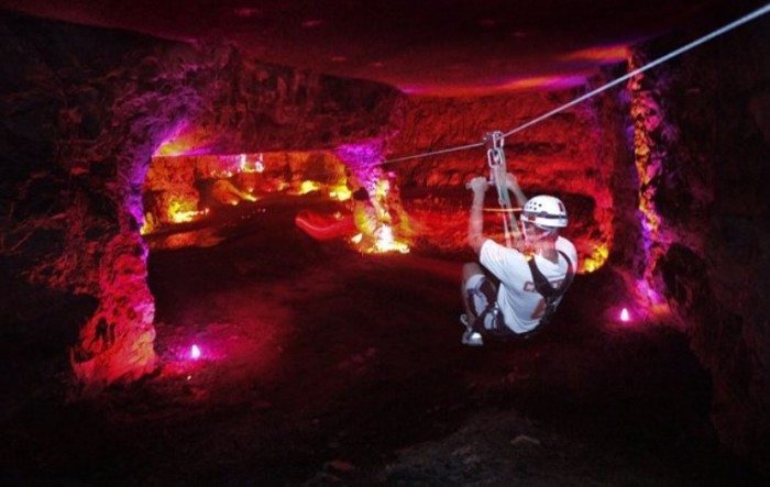 5. The Megacavern in Louisville has plenty of family activities from cave tours to zip lining to rock climbing.
