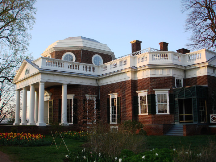 8. Visited at least one president's house.
