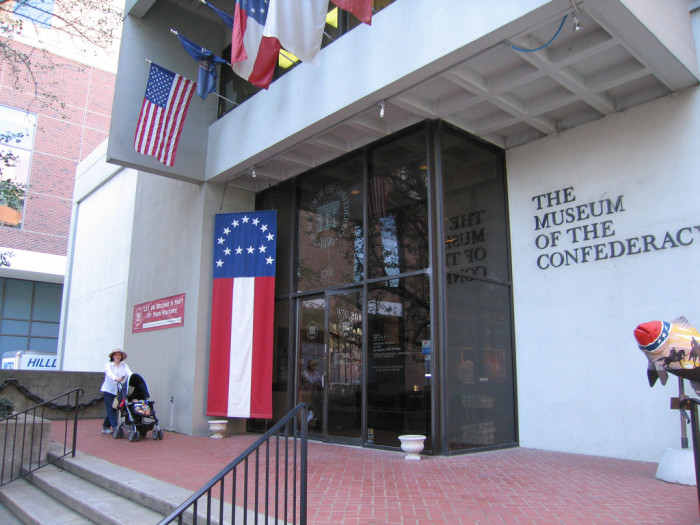 Visit the Museum of the Confederacy and the Virginia War Memorial for a look at Virginia's military history.