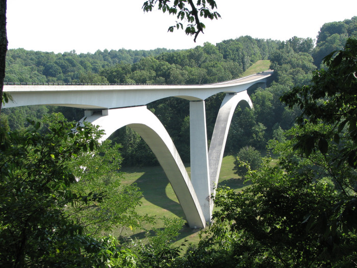 6) Natchez-Trace National Scenic Trail: