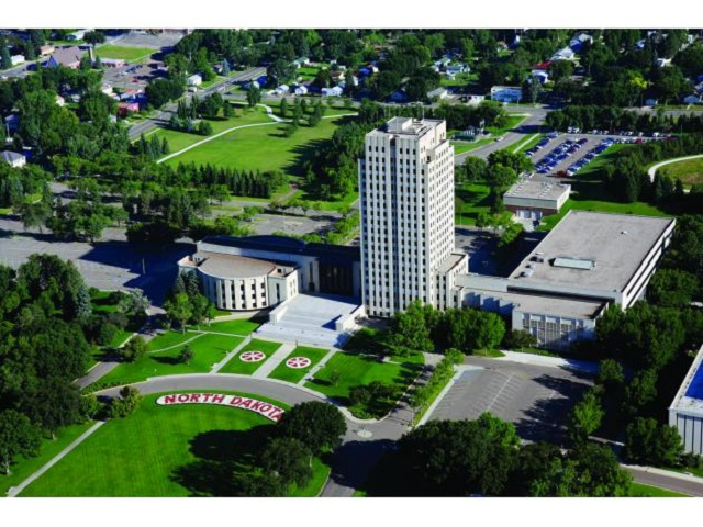 9. North Dakota Capitol Grounds in Bismarck