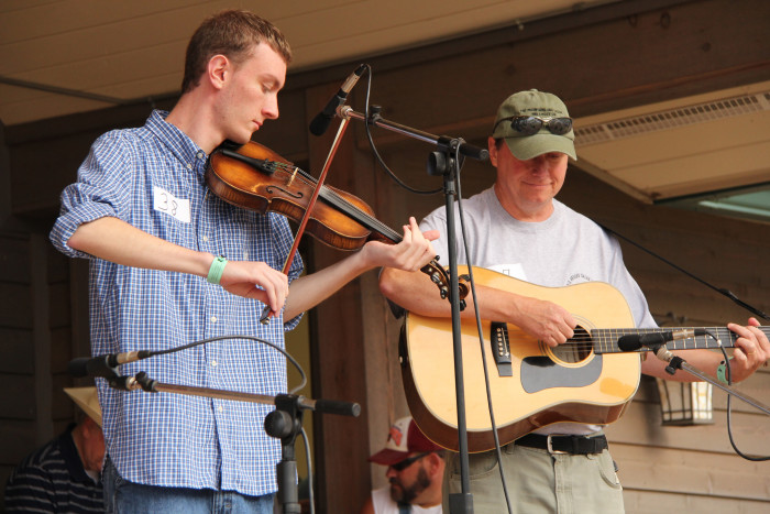 14. Galax Old Fiddlers' Convention, August 3-8