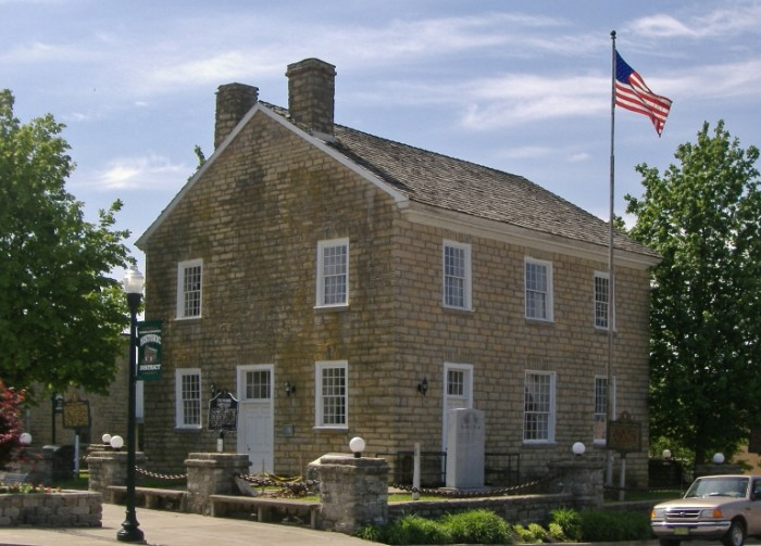 8. The Old Greensburg Courthouse was built in 1802 and used until 1931. The old barristers, lawmen and criminals still whisper down the corridors, and footsteps can be heard when no one is walking.