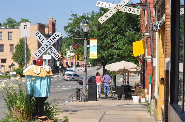 2) Old Town Lansing