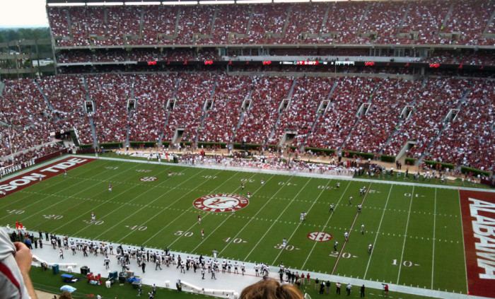 6) Of course Alabama is the only place you'll find the Crimson Tide...