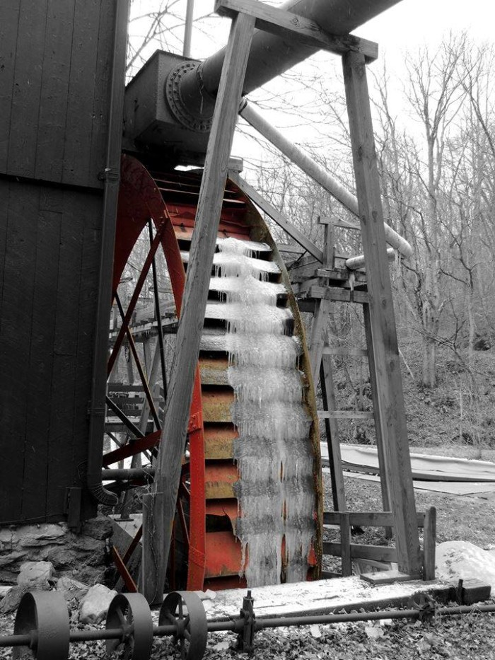 Osceola Mill wheel