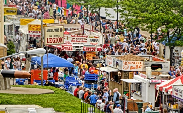 10. International Barbecue Festival in Owensboro.