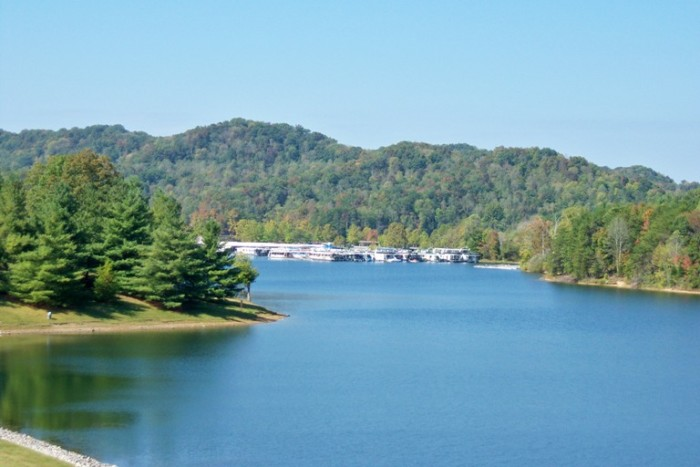 2. Paintsville Lake State Park in Eastern Kentucky