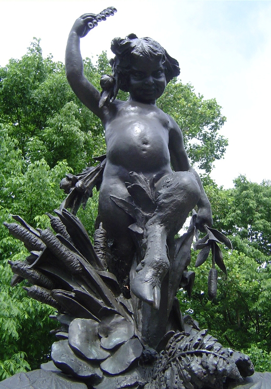 3. Hogan's Fountain in the Louisville's renowned Cherokee Park is home to a finely crafted statue of Pan. For decades, late night park visitors have claimed that on the full moon, Pan goes for a stroll.  These nights are told to be filled with mischief, like car damage and other annoying acts.