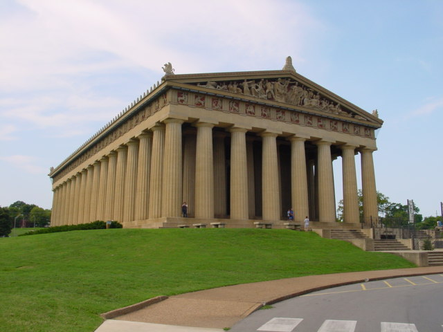 Walk one of the gorgeous parks in the area, like Centennial where you'll find a replica of the Parthenon.