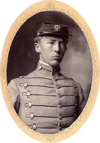 17.  George S. Patton at Virginia Military Institute, Class of 1907
