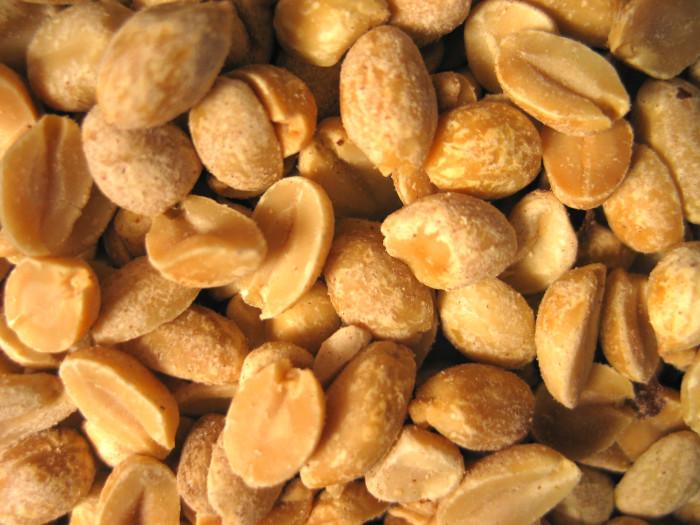 Roasted Georgia peanuts from the Georgia Peanut Commission