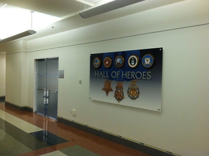 Hall of Heroes at the Pentagon in Arlington
