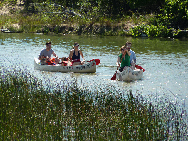 7) If you're planning to spend the day outside, like here on Platte River
