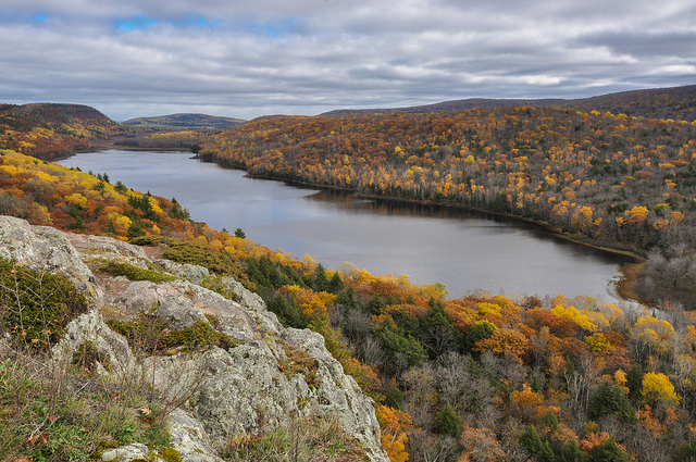 2) Porcupine Mountain State Park