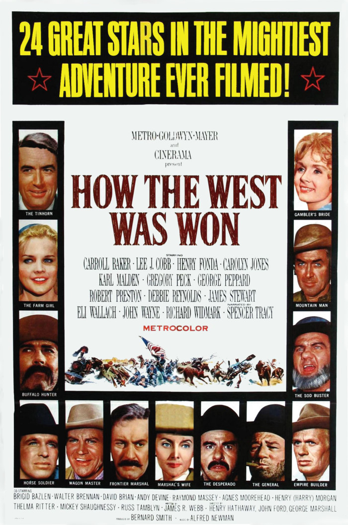 2.) How the West Was Won (1962)