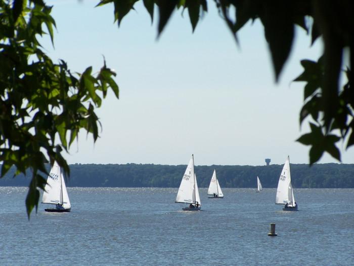 Sail the Potomac River.