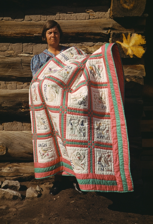 2. Curl up with a handmade quilt