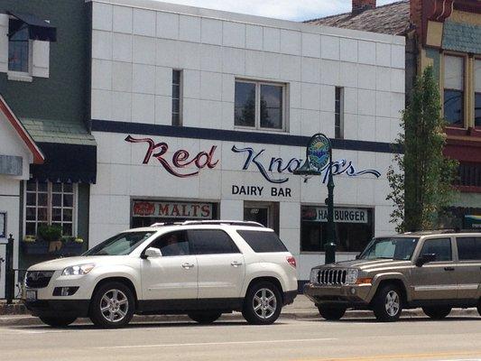 12) Red Knapp's Dairy Bar, Rochester