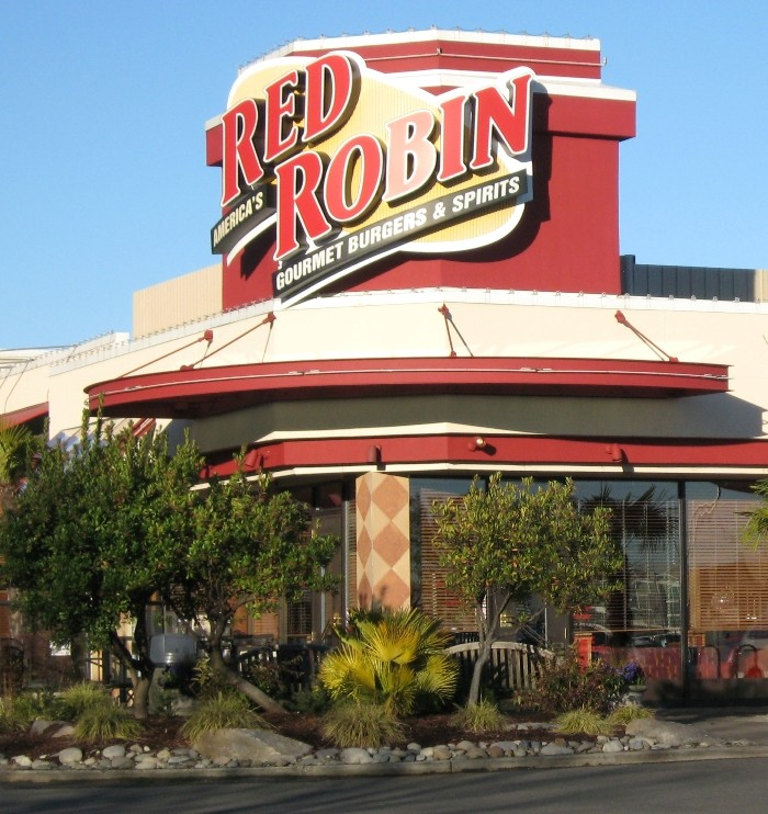"""2. Red Robin in Middletown offers so many varieties of burgers and other sandwiches it's impossible to """"not"""" like at least one."""