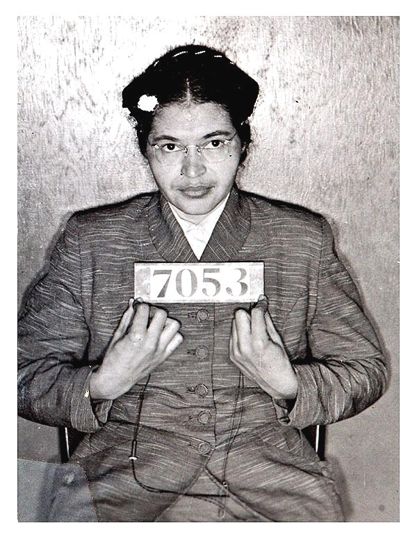 A biography of rosa parks an important black american