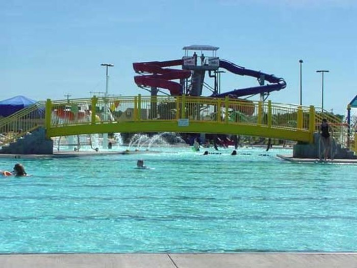 2. Russell Sims Aquatic Center in Bowling Green.