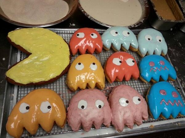 SUgar Shack Donuts Pac Man